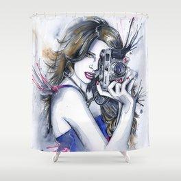 Perfect Shot Shower Curtain