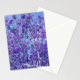 Purple Jacaranda Stationery Cards