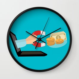 E-Commerce Wall Clock