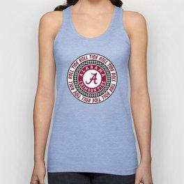 Alabama University Roll Tide Crimson Tide Unisex Tank Top
