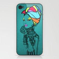 ERYKAH iPhone & iPod Skin