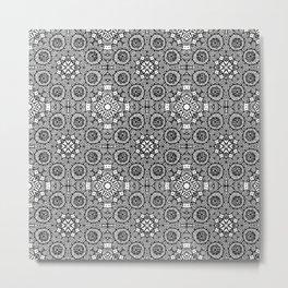 Doodle Pattern 11 Metal Print
