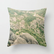 Kalambaka Throw Pillow
