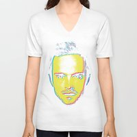 "jesse pinkman V-neck T-shirts featuring Breaking Bad ""Jesse Pinkman"" by Steal This Art"