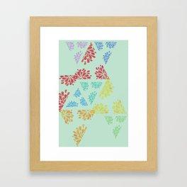 geo mintpop Framed Art Print