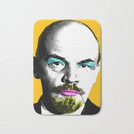 Ooh Mr Lenin - Orange Bath Mat