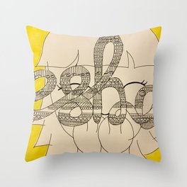 ESHA Throw Pillow