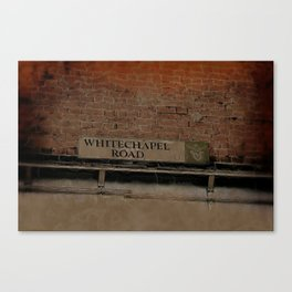Old Haunts - Whitechapel Road,  London Canvas Print