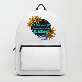 I live a Delmarvalous Life Backpack