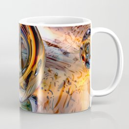 Macro 3D Rings Coffee Mug