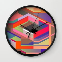 Maskine 10 Wall Clock