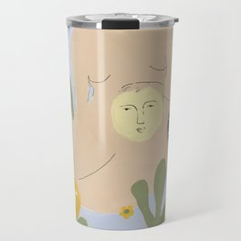 Taking care of the moon Travel Mug