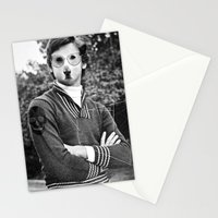 My dog is cool. Stationery Cards