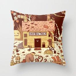 Eureka Factory Throw Pillow