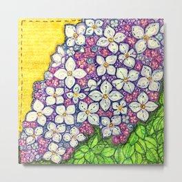 Lilacs for Sally Metal Print