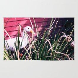 Quack Quack Country Barn Print Rug