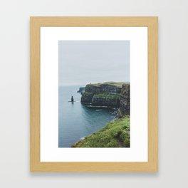 Cliff of Moher Framed Art Print