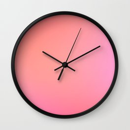 CANDY / Plain Soft Mood Color Blends / iPhone Case Wall Clock