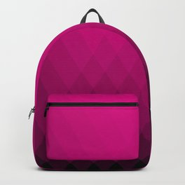 Pink ombre triangles Backpack