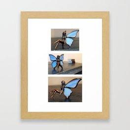 Faerie Collage Framed Art Print