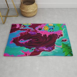 Lumpy Space Void  Rug