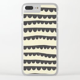 Scalloped Garland Clear iPhone Case