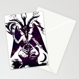 Baphomet Dreams Stationery Cards