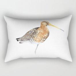 Black Tailed Godwit Rectangular Pillow