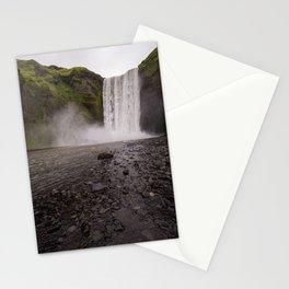 Skógafoss Stationery Cards