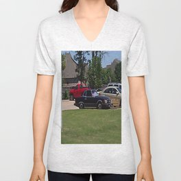 Benz Around Unisex V-Neck
