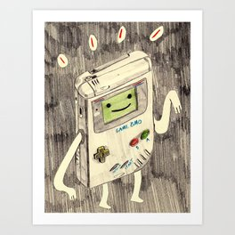 Game BMO Art Print