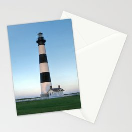 Bodie Island Lighthouse Sunset Outer Banks NC OBX Pea Island Hatteras Island  Stationery Cards