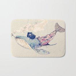 Pirate Whale Bath Mat