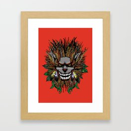 Big Chief Wolfenfreak  Framed Art Print