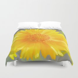 Yellow Wildflower - Coreopsis Duvet Cover