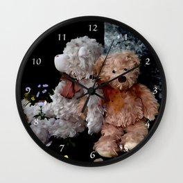 Teddy Bear Buddies Wall Clock