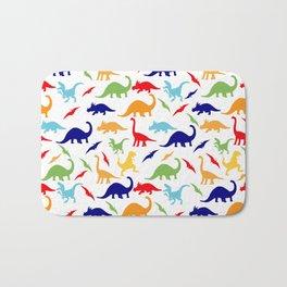 Colorful Dinosaurs Pattern Bath Mat