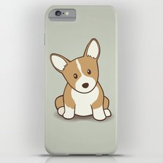 Welsh Corgi Puppy Illustration Slim Case iPhone 6s Plus