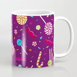 Delightful Candy Pattern Coffee Mug