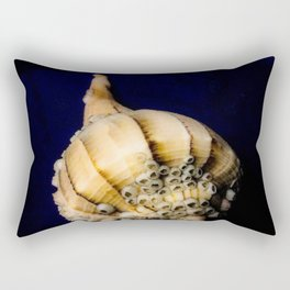 Sea Shell with Barnacles Rectangular Pillow