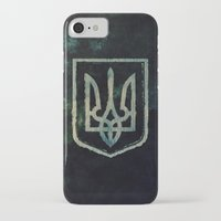 ukraine iPhone & iPod Cases featuring Ukraine by rudziox