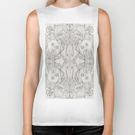 Lines (oh, let's enjoy the wild unknown, baby!) Biker Tank