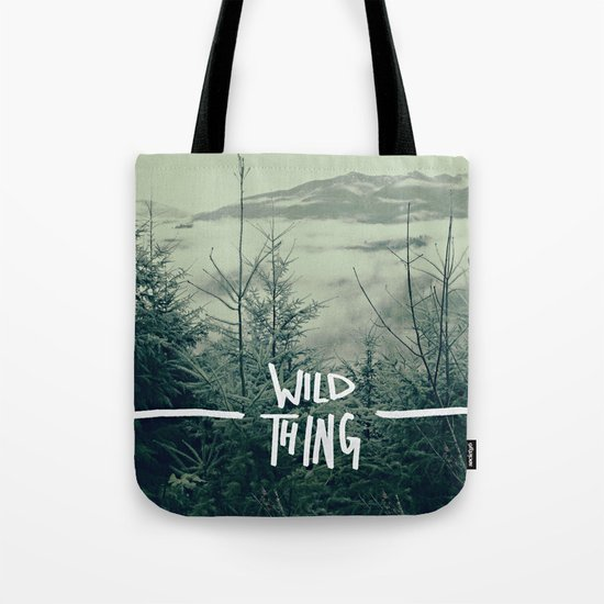 Wild Thing: Skagit Valley, Washington Tote Bag