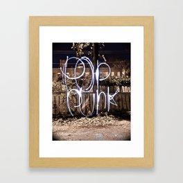 Pop Punk Framed Art Print
