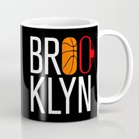 brooklyn Mugs featuring Brooklyn by David Bastidas