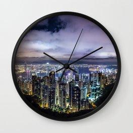 Kam Shan Country Park Cityscape, Hong Kong #2 Wall Clock