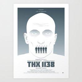 GEORGE LUCAS' THX 1138 Art Print