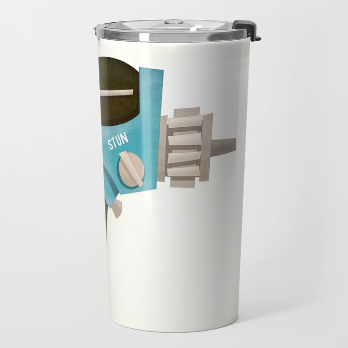 Set phasers to stun! Travel Mug