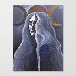 The Crone Canvas Print