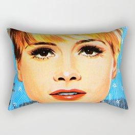 That face Though Rectangular Pillow